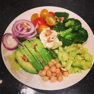 Salade gourmande aux pois chiches