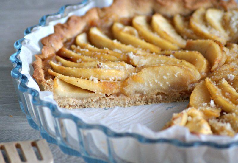 Tarte aux pommes à l'amande