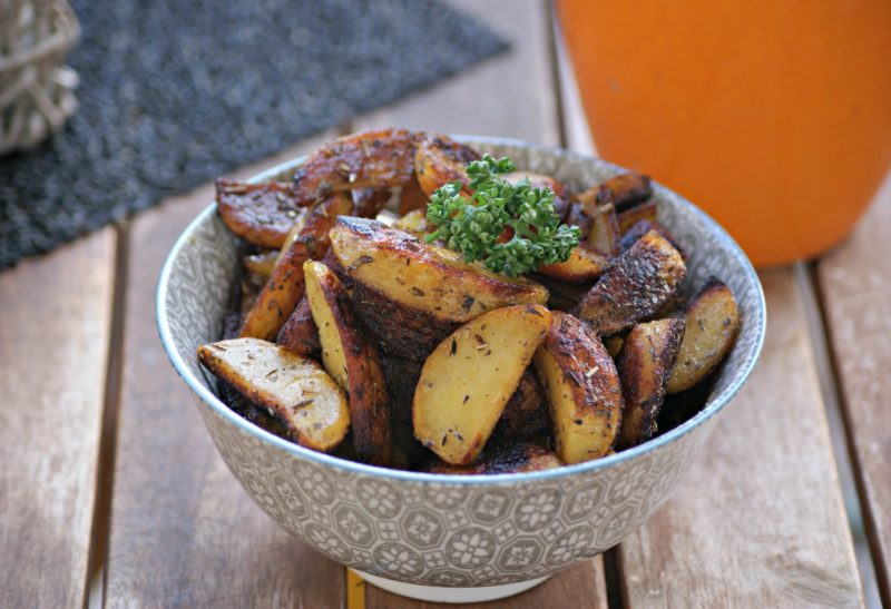 Potatoes marinées à l'huile de sésame