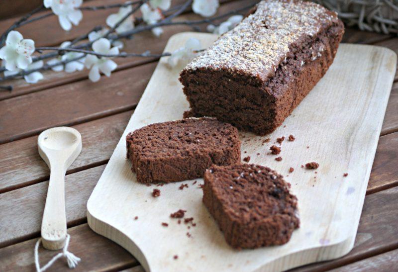 Cake au chocolat noir et noix de coco