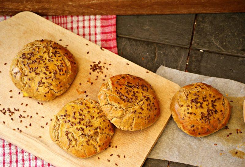 Petits buns pour hamburger maison