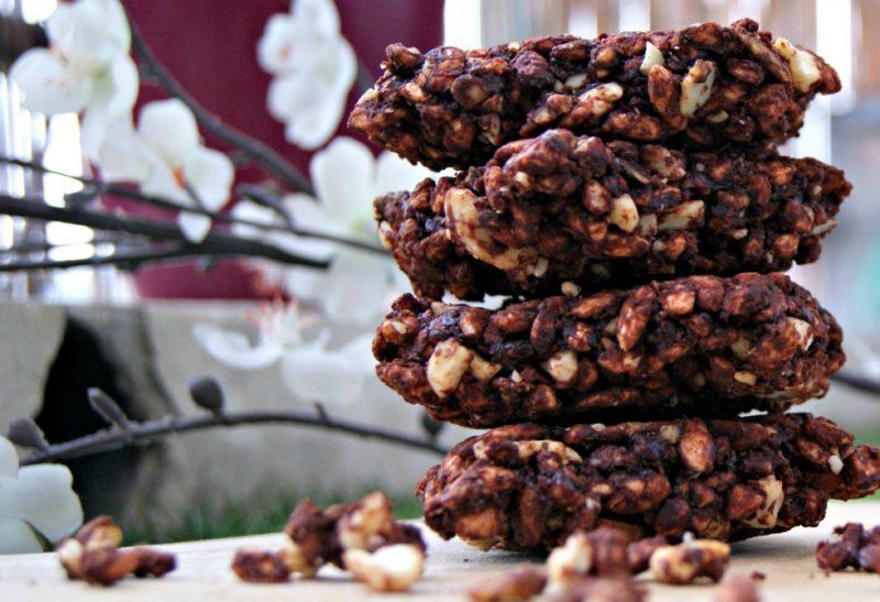 «Granola Bars» au riz soufflé et chocolat