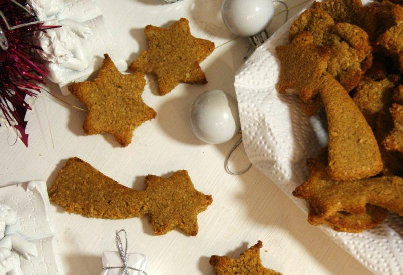 Petits biscuits aux épices pour noël