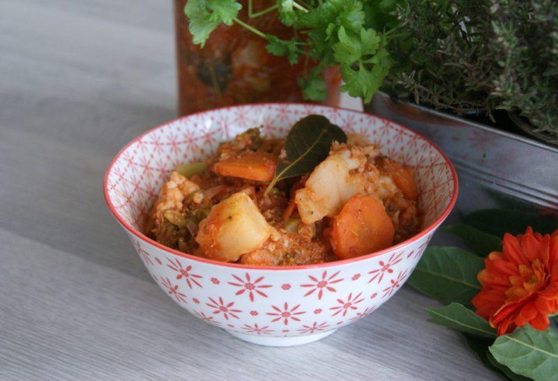 Ratatouille aux légumes d'hiver