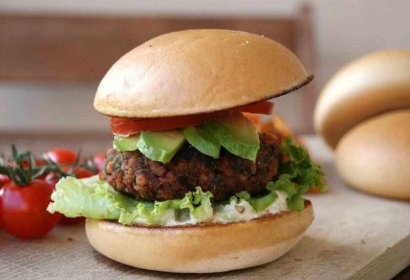 Burger veggie sans gluten