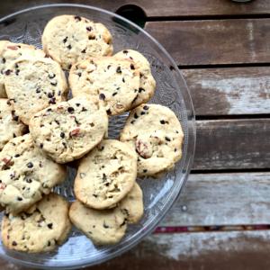 Cookies sans gluten aux fruits secs