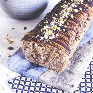 Banana bread à la farine de petit épeautre et aux noix