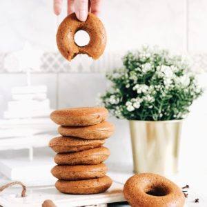 Donuts vegan cannelle et courge