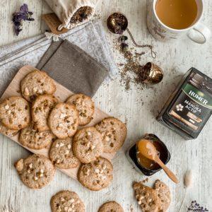 Cookies pistache, amande et miel de Manuka