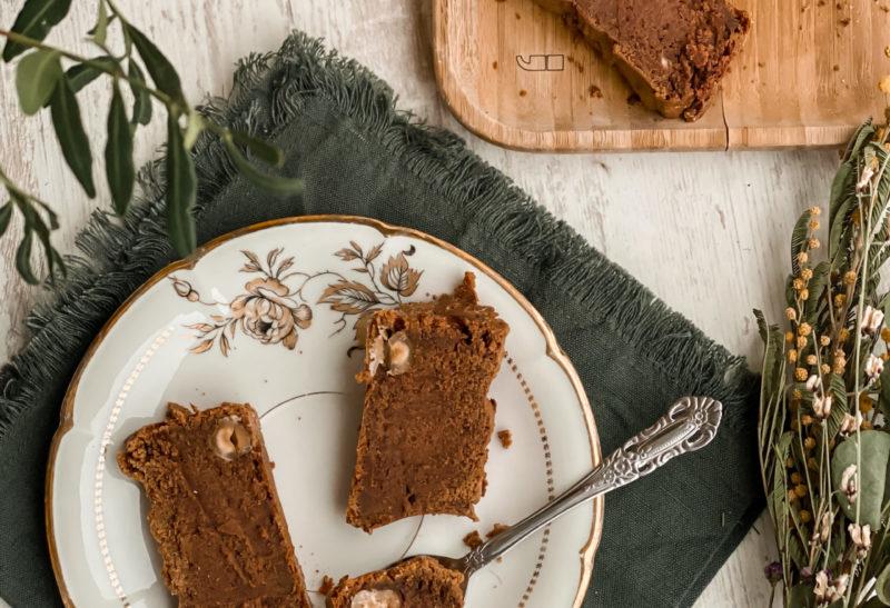 Brownie vegan à la patate douce et beurre de cacahuète