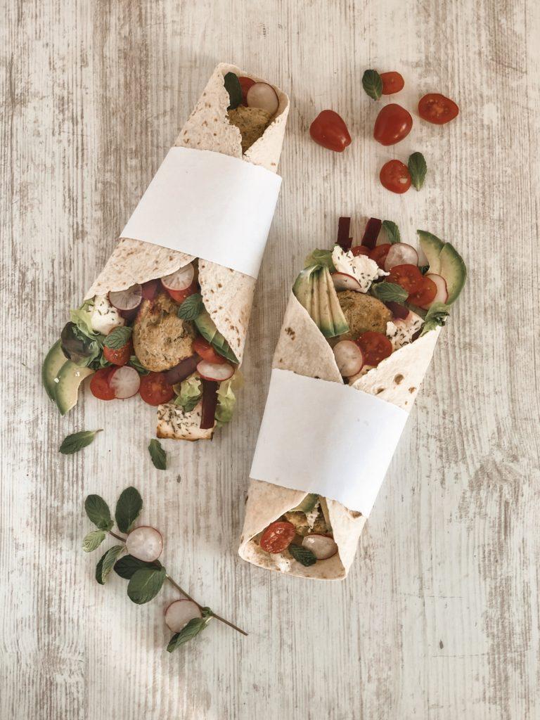 wrap légumes