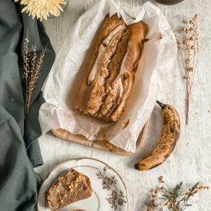 Banana bread au beurre de cacahuètes